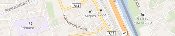 Karte MIGROS Rheineck
