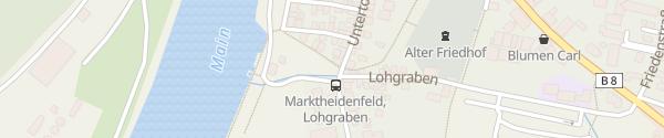 Karte Pedelec-Station am Mainspielplatz Marktheidenfeld