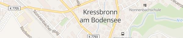 Karte Rathaus Kressbronn