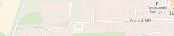 Karte Innung des Kraftfahrzeugtechnikerhandwerks Garbsen