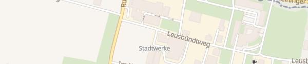 Karte Stadtwerke Feldkirch