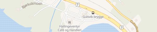 Karte Circle K Gulsvik Flå