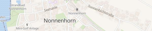 Karte Bahnhof Nonnenhorn