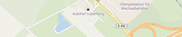 Karte IONITY Total Autohof Staufenberg