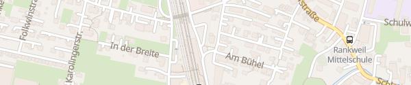Karte Bahnhof Rankweil