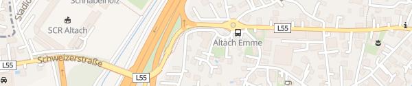 Karte Hotel Hahn Altach