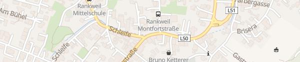 Karte Rankweiler Hof Rankweil