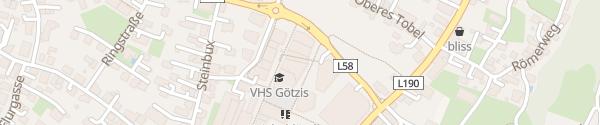 Karte Tiefgarage am Garnmarkt Götzis