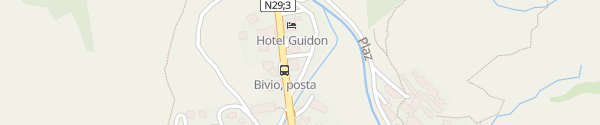 Karte Touristinfo Bivio