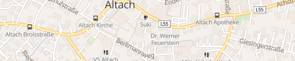 Karte Raiffeisenbank Altach