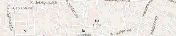 Karte Eurospar Rheincenter Lustenau