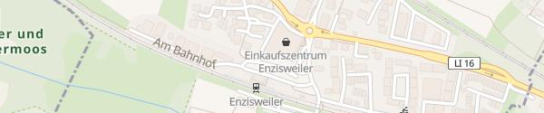 Karte REWE Markt Enzisweiler