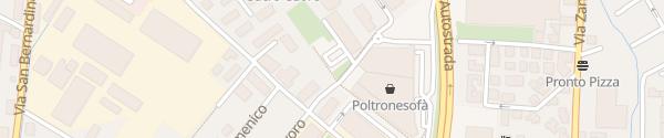 Karte Parcheggio via Pietro Spino Bergamo