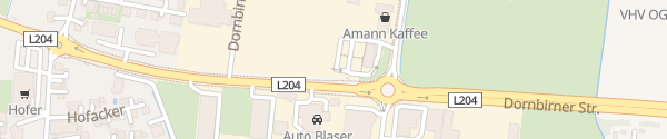 Karte McDonald's Lustenau