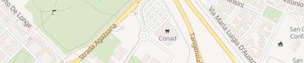 Karte Conad Piacenza