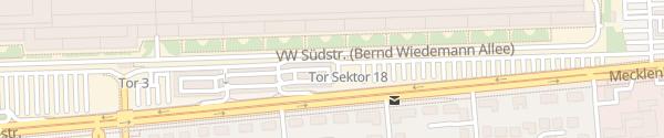 Karte Parkhaus Mitte VW Nutzfahrzeuge Hannover