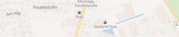 Karte REWE Moorrege