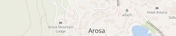 Karte Hotel BelArosa Arosa