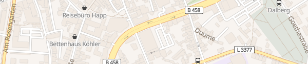 Karte E-Bike Ladesäule REWE Fulda