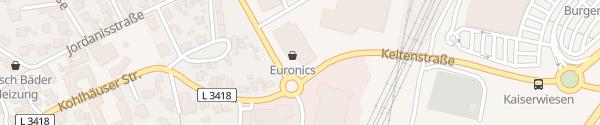 Karte Euronics XXL EFM Fulda Fulda