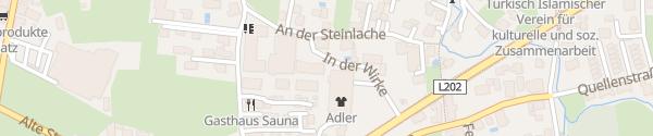 Karte VLOTTE Ladesäule Hard