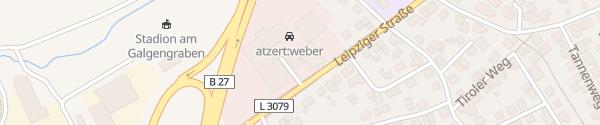 Karte Volkswagen Zentrum Fulda