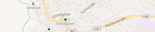Karte Gemeindeverwaltung Eichenzell