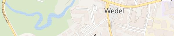 Karte Parkplatz Gorch-Fock-Straße Wedel