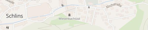 Karte Wiesenbachsaal Schlins