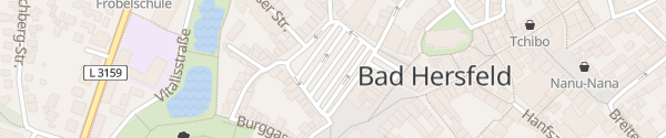Karte Marktplatz Bad Hersfeld
