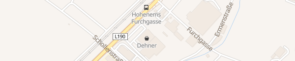 Karte Dehner Garten-Center Hohenems
