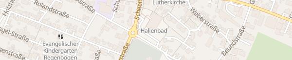 Karte Hallenbad Eislingen-Fils