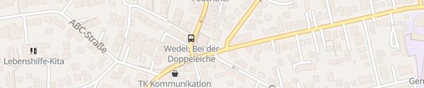 Karte Parkplatz Bei der Doppeleiche Wedel