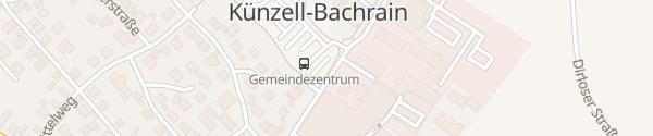 Karte Busbahnhof Künzell