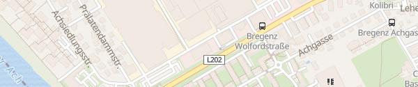 Karte Autohaus Strolz Bregenz