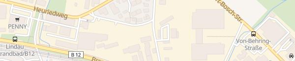 Karte Stadtwerke Lindau