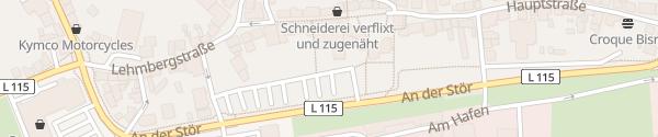 Karte Unterer Marktplatz Kellinghusen