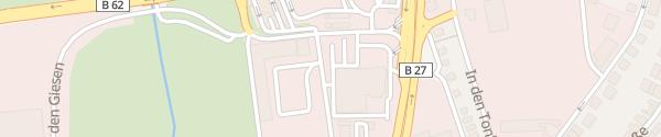Karte VW Autohaus Salzmann Bad Hersfeld