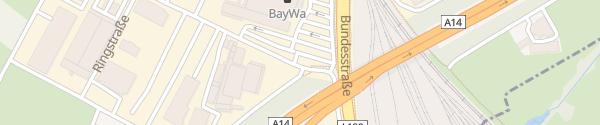Karte BayWa Bau- und Gartenmarkt Lauterach