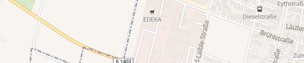 Karte Gebauer's EDEKA Salach