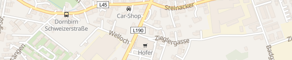 Karte Bäckerei Mangold Dornbirn