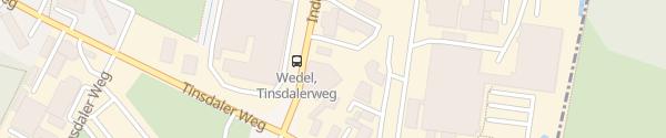 Karte Clean Car Wedel