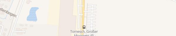 Karte Betriebsparkplatz HellermannTyton Tornesch