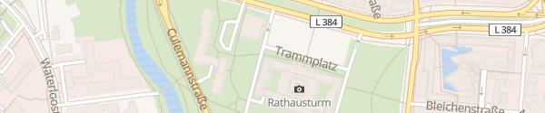 Karte Neues Rathaus Hannover