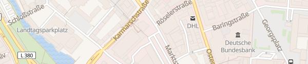Karte Köbelinger Markt Hannover
