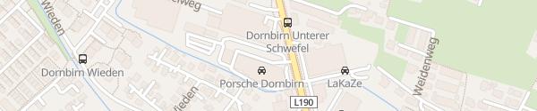 Karte Porsche Dornbirn Dornbirn