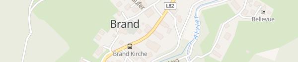 Karte Boutique-Hotel Lün Brand