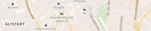 Karte Parkhaus Windmühlenstraße Hannover