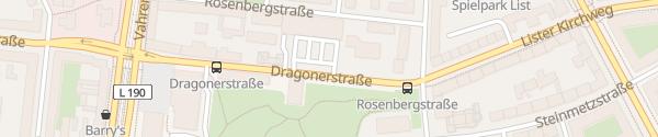 Karte Lidl Dragonerstraße Hannover