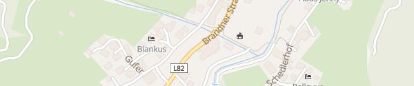 Karte Hotel Walliserhof Brand